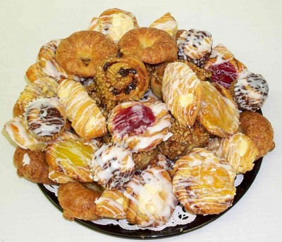Parents get to meet Principal and get a free pastry, too