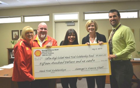Mock trial receives generous support from George's Shell!