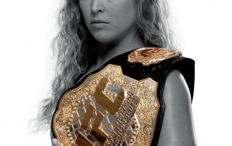 Ronda Rousey out to prove herself in a cold man's fighting world
