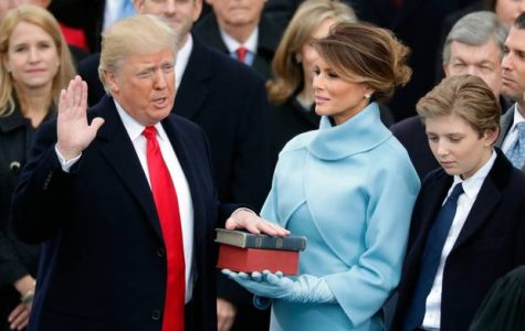 America somewhat welcomes the 45th president