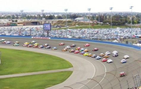 Tony Stewart Wins Rainy Southern California NASCAR Race