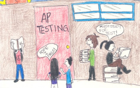 AP testing causes confusion among students