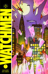 The Watchmen: maybe the greatest graphic novel of all time