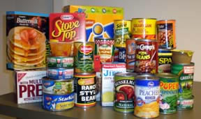 Canned food drive is here!