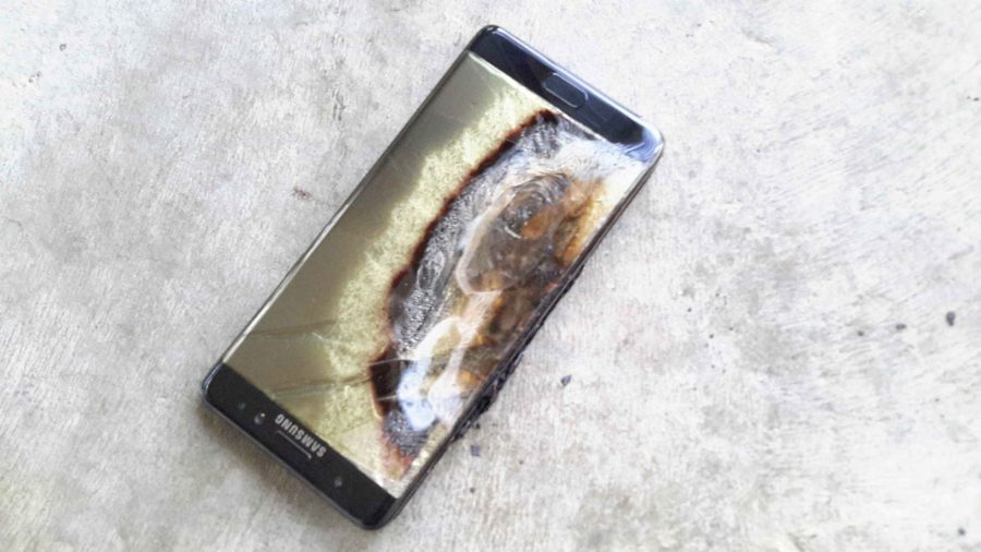 Galaxy Note 7: the phone that explodes