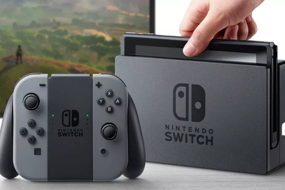 Introducing the brand new Nintendo Switch.