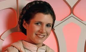 Hollywood says goodbye to Princess Leia