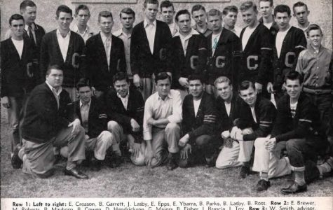CHS yearbook photo from 1949