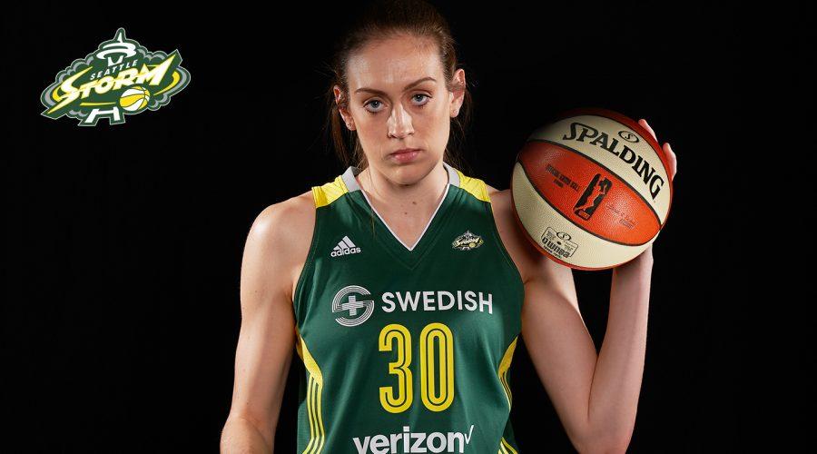 Woman's basketball star Breanna Stewart shares her