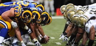 Saints+vs+Rams