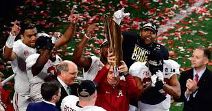 Alabama Crimsons takes third consecutive national championship