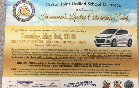 "CJUSD to honor high school students as ""Tomorrow's Leaders"""