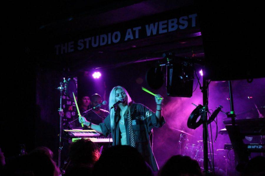 Hayley Kiyoko spreading confidence and positivity at Santa Ana show