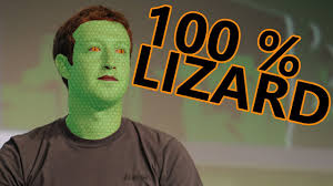 Is Mark Zuckerburg on the urge of becoming a reptile?