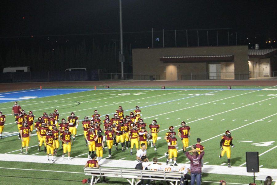 Colton comes up short in football tussle vs. Arlington High School