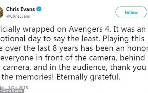 Chris Evans final days as Captain America