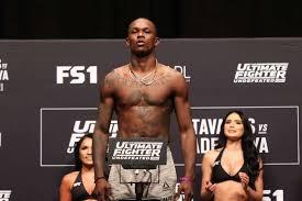 Israel Adesanya breaks through the UFC scene