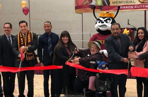 Ribbon cutting ceremony for stadium brings Colton community together