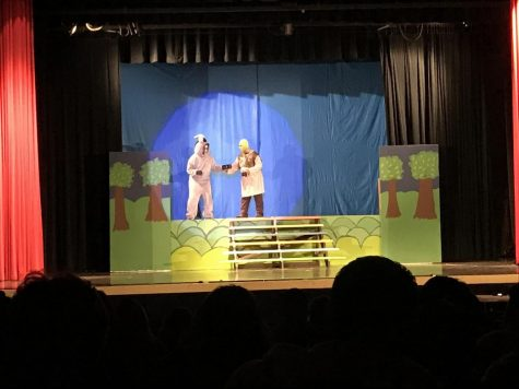 """Backstage"": a school play about a school play, coming to CHS"