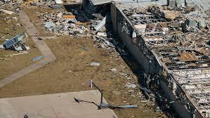 Tornado in Dallas Texas