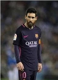 Soccer Player Messi Asking to Leave FC Barcelona