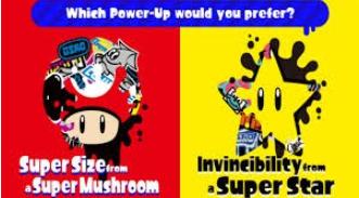 Mario Themed Splatfest arrives at Inktopolis!