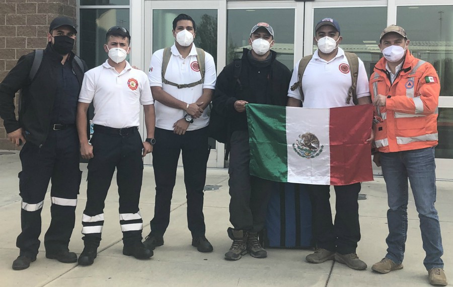 Mexico Sending Firefighters to Help Aid Wildfires