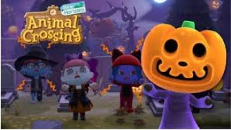 Halloween in Animal Crossing New Horizons!