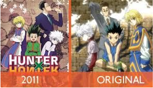 Hunter X Hunter 1999 VS 2011