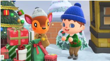 Holidays arrive for Animal Crossings: New Horizon