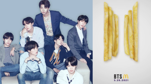 BTS Mcdonald's Meal