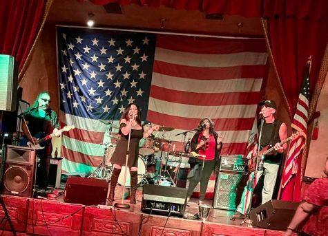 Sugar Rush, fronted by Ms. Leyva, rocked Mill Creek in Mentone.