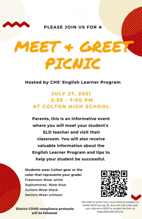 CHS EL program to host picnic for all EL students and families