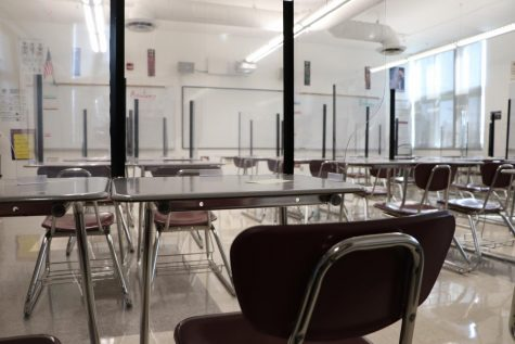 Classrooms are set up for students to return, but should they?