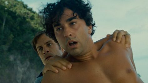 Gael García Bernal and Alex Wolff are confronted with supernatural terrors in M. Night Shyamalan