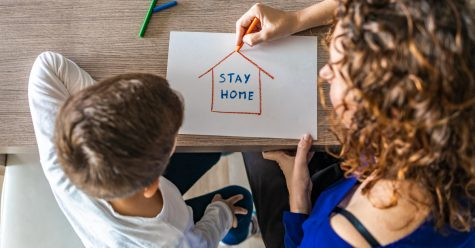 Staying at home is the best choice as COVID-19 rates start rising again. Photo credit: CDC