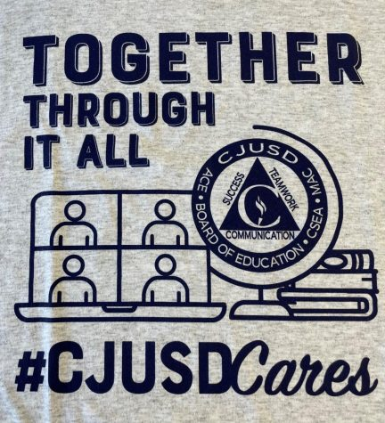 All CJUSD students will receive a #CJUSDCares t-shirt to wear on Fridays.