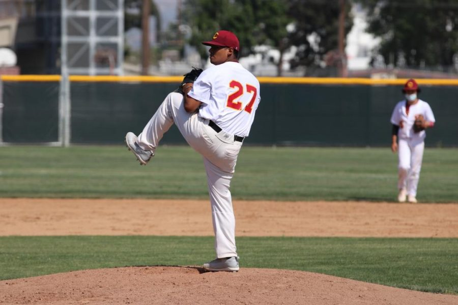 Alex Navarrete was named Sunkist League MVP for the 2020 baseball season. Alex posted an ERA of 0.76 and batted .375.