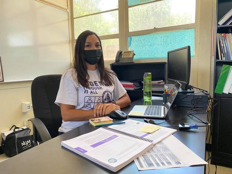 Ms. Jennifer Cruz is ready to serve the Colton community as the next CHS Vice-Principal
