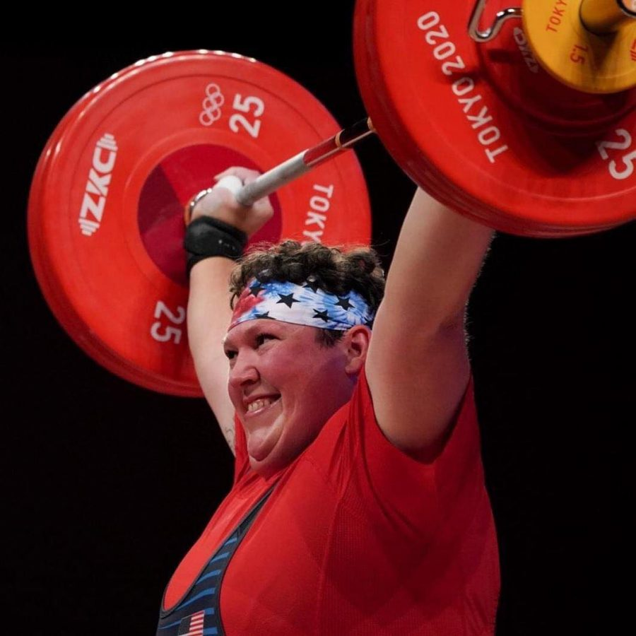 Sarah+Robles+became+the+first+female+weightlifter+to+win+multiple+medals+in+the+Olympic+Games+in+Tokyo+this+year.