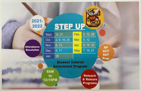 Students can attend StepUP, Colton Highs Saturday School program on the dates listed to clear absences and tardies, as well as receive academic support.