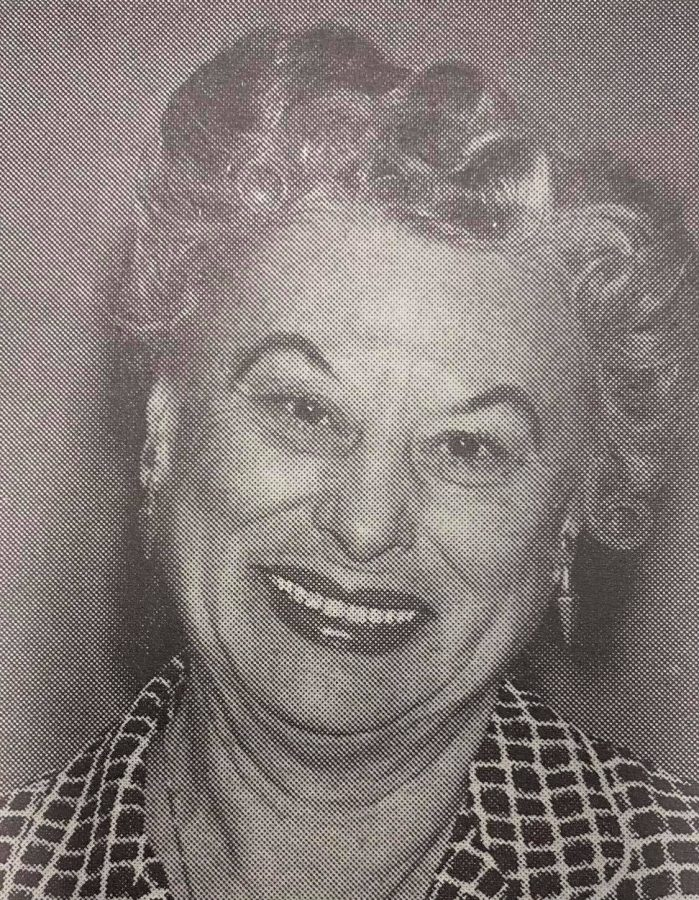 Christina Beeson served as Pepper Bough adviser for 43 years. During that time, the newspaper received over 400 awards.