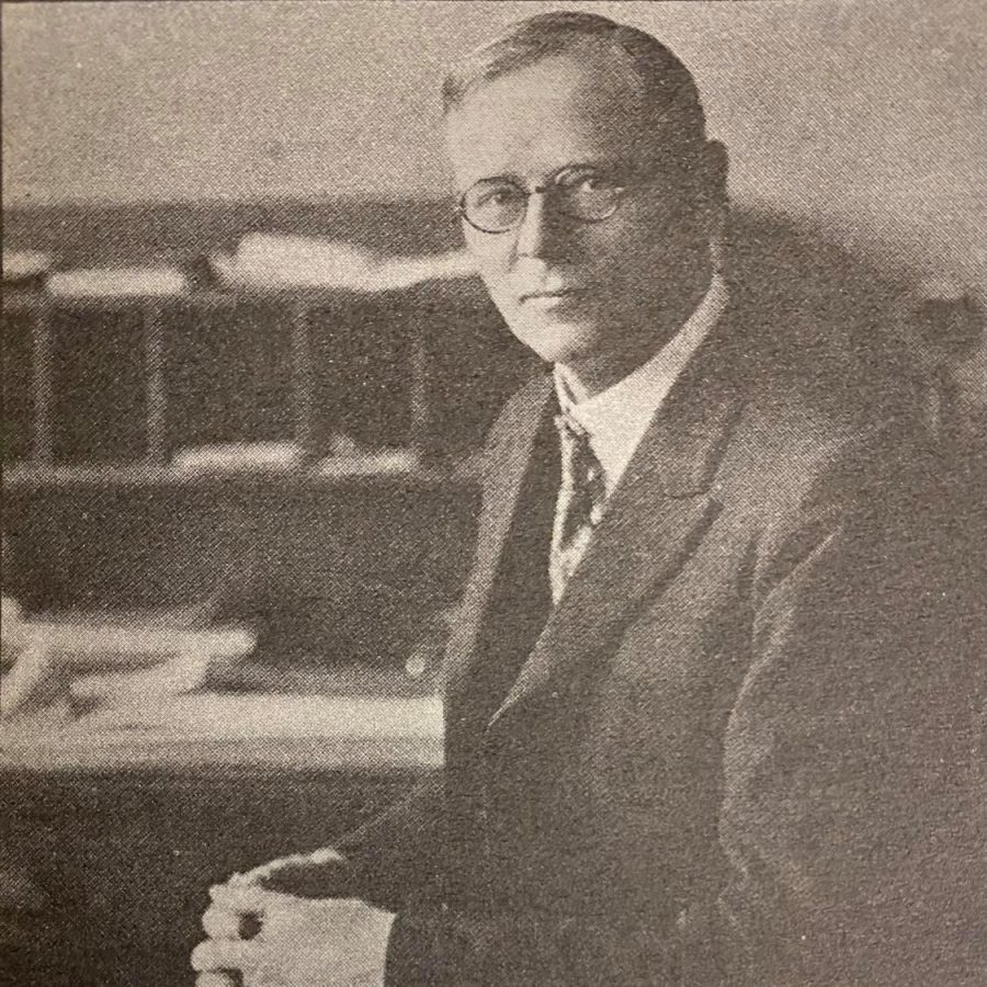 George H. Jantzen served as principal from 1914-1926. He was also the first president of San Bernardino Valley College.