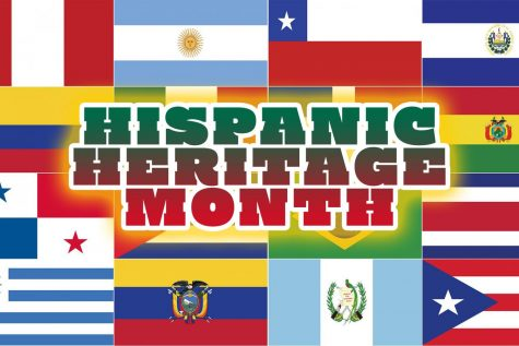 Sept. 15-Oct. 15 is Hispanic Heritage Month, celebrating the variety of Spanish speaking cultures that make up the United States.