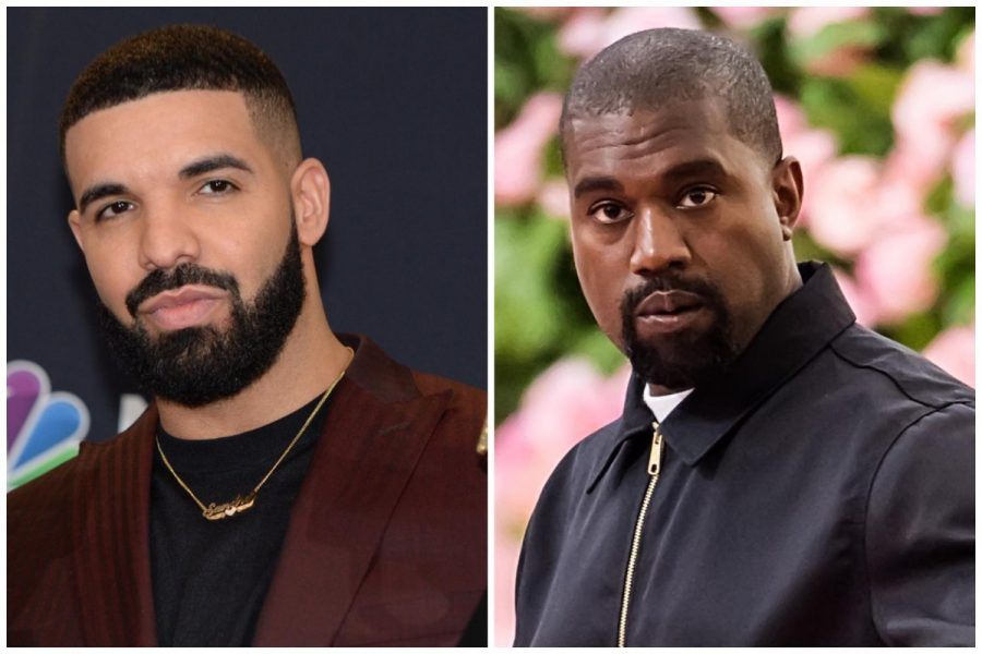Kanye West and Drake both released new albums this week, putting them in competition for the top of the charts.