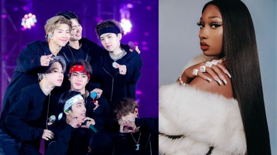 BTS+and+Megan+Thee+Stallion+join+forces+for+the+family-friendly+pop+hit%2C+Butter.