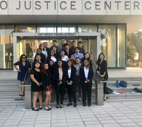 The CHS Mock Trial team has had great success in previous years.
