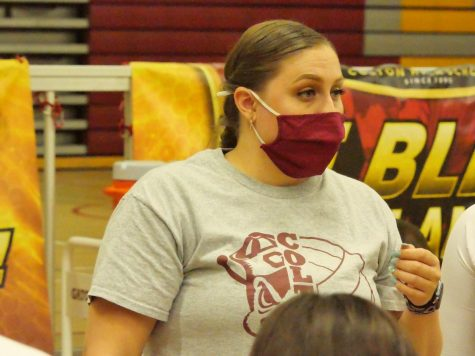 Volleyball Head Coach Sarah Vasquez focuses on teaching her students about more than just the game.