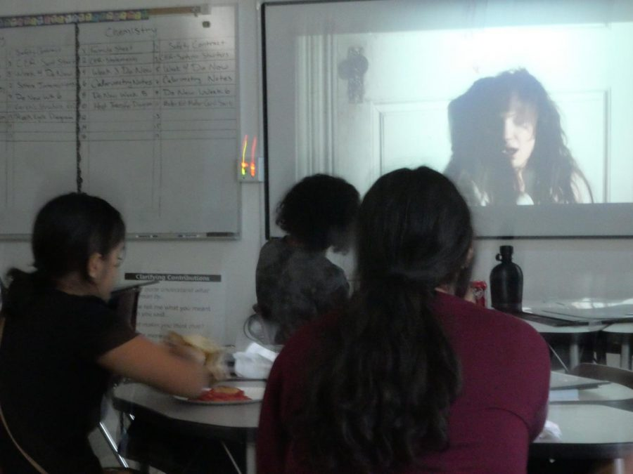 The CHS Horror Club met on Friday after school in room 64 to stream James Wans latest horror film, Malignant on HBO Max the day of release.