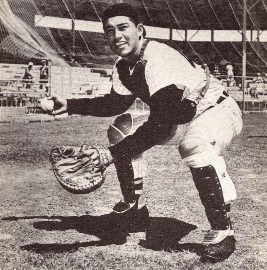 Camilo Carreon, shown here in his Chicago White Sox uniform, played eight seasons in the major leagues from 1959-1966.